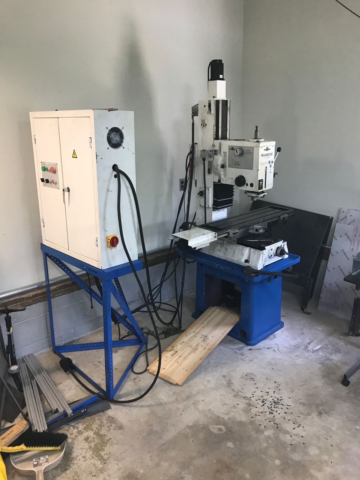 Mill Upgrades – Enclosure